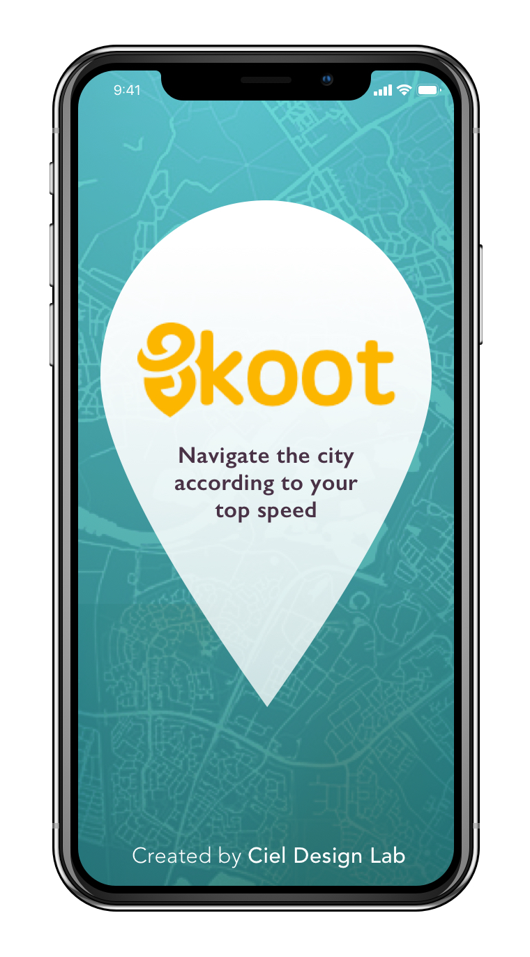 Skoot for iPhone X Eliminate guesswork on your scooter route. - Whether you have your favourite passenger, groceries, or find yourself feeling particularly lightweight and swift, you can adjust on a sliding scale to find roads and shortcuts through the city that best fit your top speed!