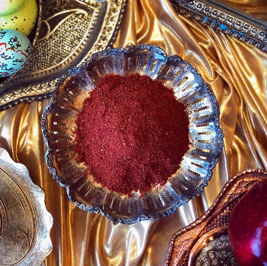 Sumac for Nowruz Haftseen display