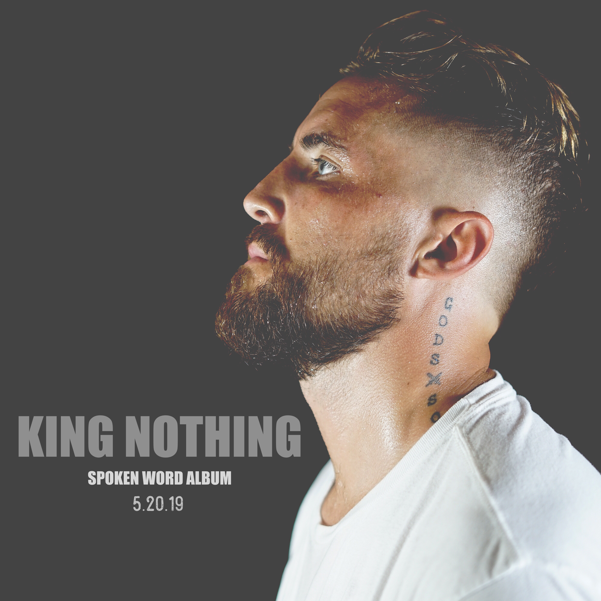 King Nothing | New Album - Friends and Family, I am excited to announce the release of my new spoken word album, King Nothing. As many of you know, this past year has been wild. I've learned more things about myself than any other time in my life. Me and my family are stronger than ever before. This album gives you not just a glimpse into my life - but I blow the door wide open on everything. Here's to transparency. Here's to vulnerability. Here goes nothing - King Nothing.