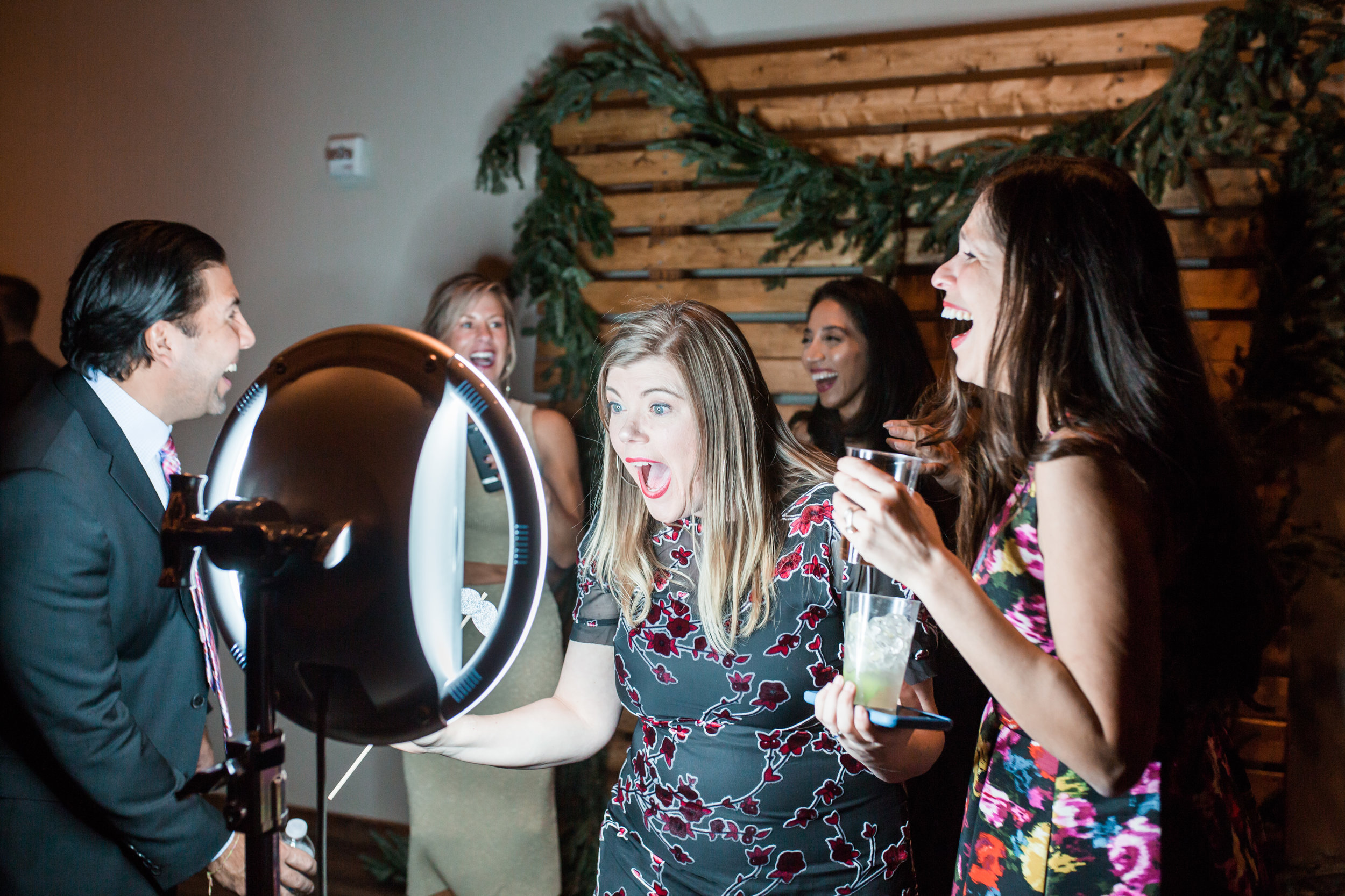 Who Are We? - Think Outside the Booth strives to take your photo booth experience to the next level. You won't know where your photo booth ends and your party begins.