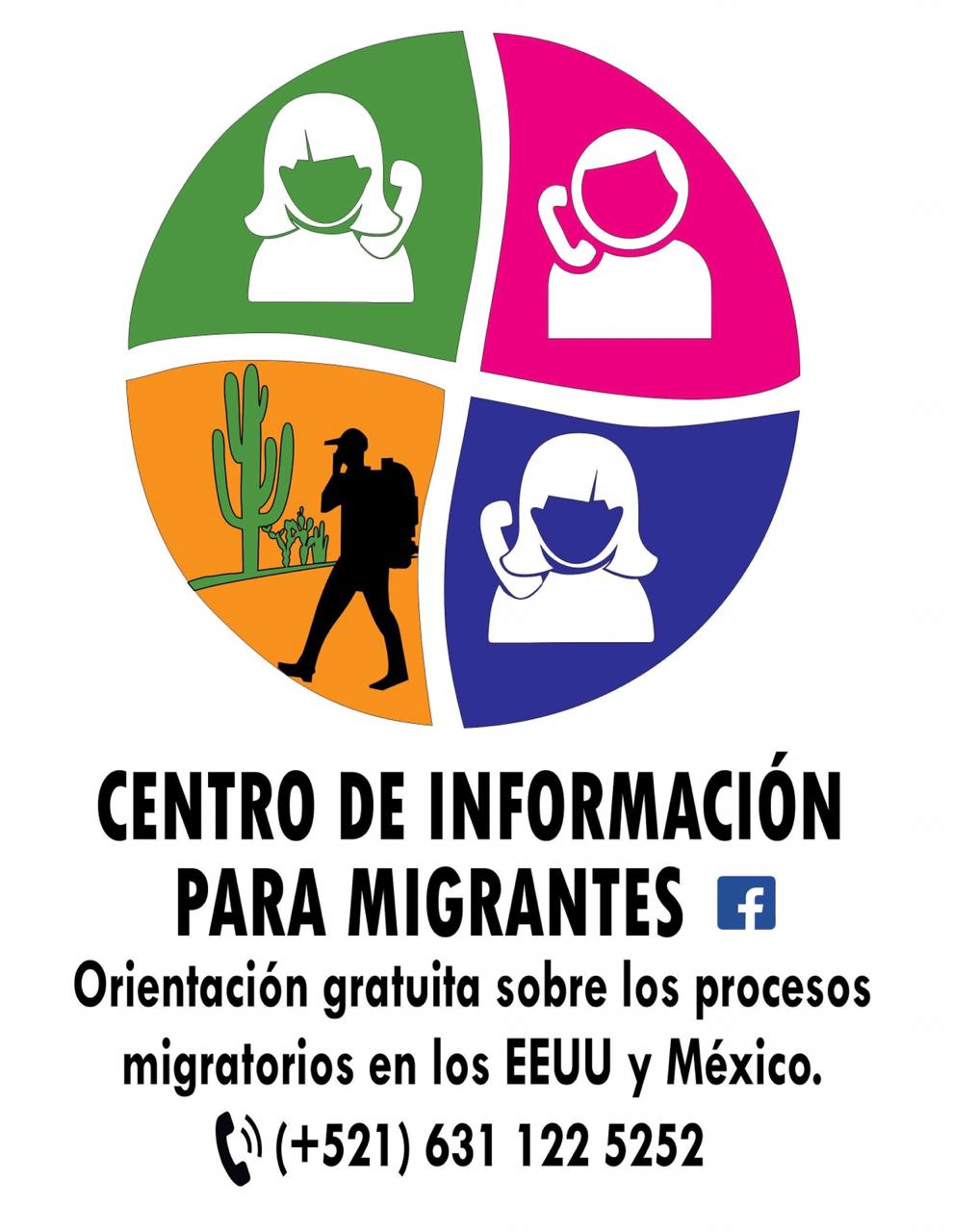 This information hotline is for migrants seeking support and resources – calling via WhatsApp from the U.S. will avoid charges.