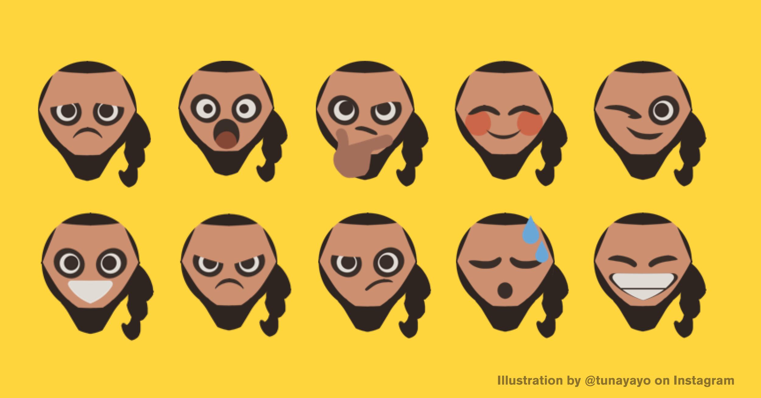 Dothraki emoji by  @tunayayo