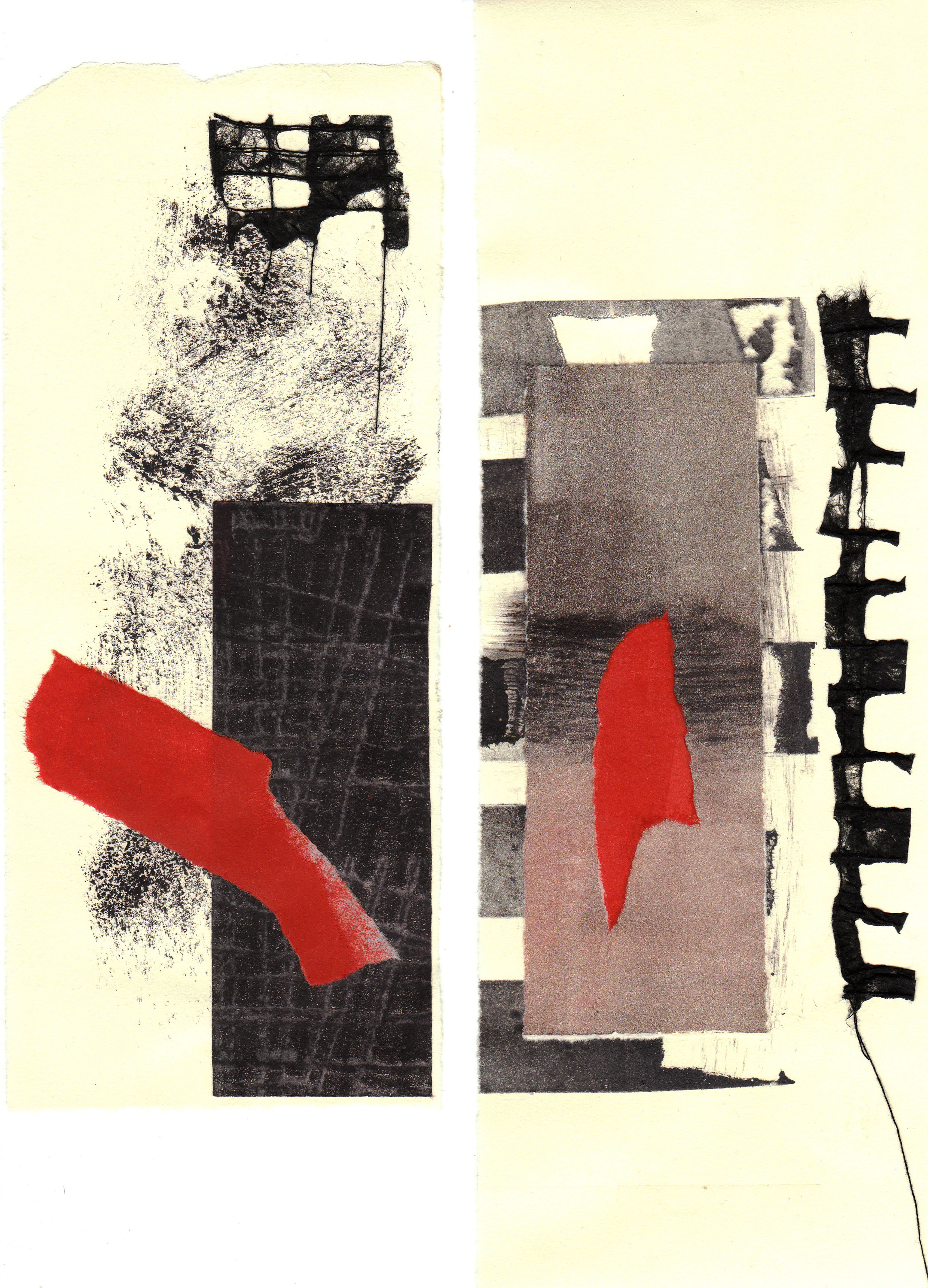 Collage Diptych 1