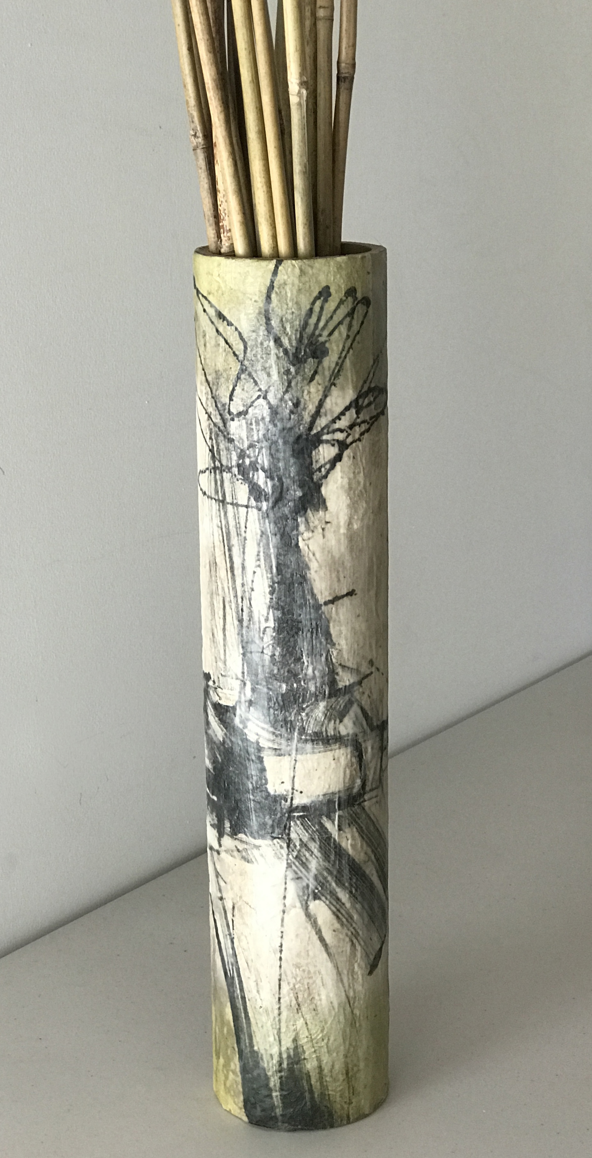 Vase of Bamboo