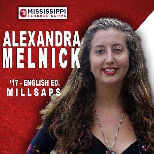 Meet Alex. * Proud @millsapscollege grad. * Dedicated teacher in the Delta. * One of the best teammates in our entire cohort. #MeetOurTeam⬆️