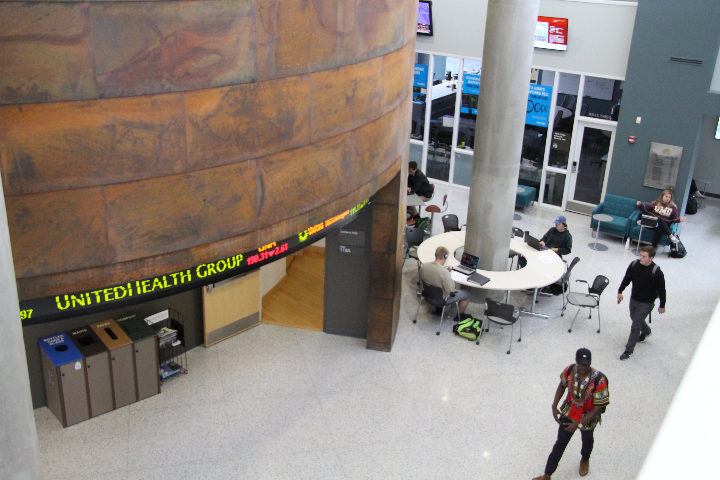Inside the Labovitz School of Business and Economics