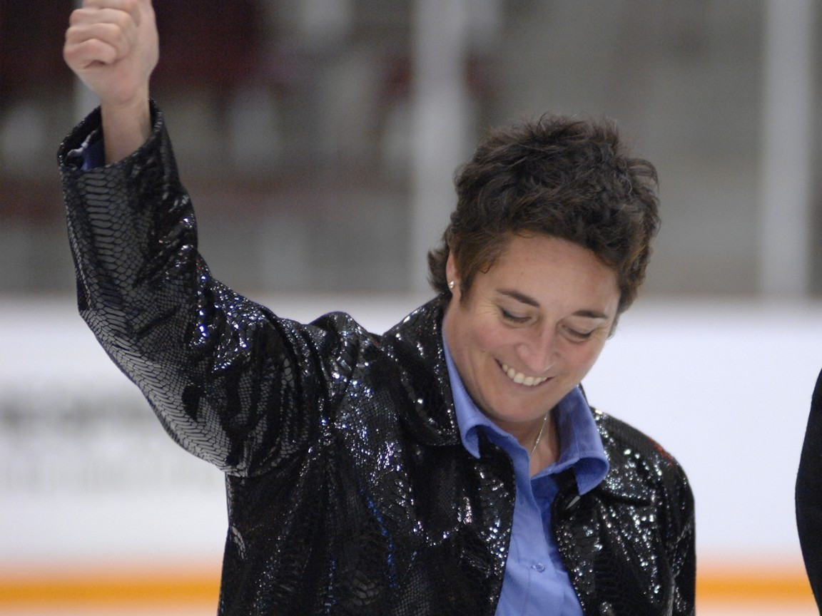 Shannon Miller, former UMD women's hockey coach of 16 years. Photo courtesy of the UMD athletic department.