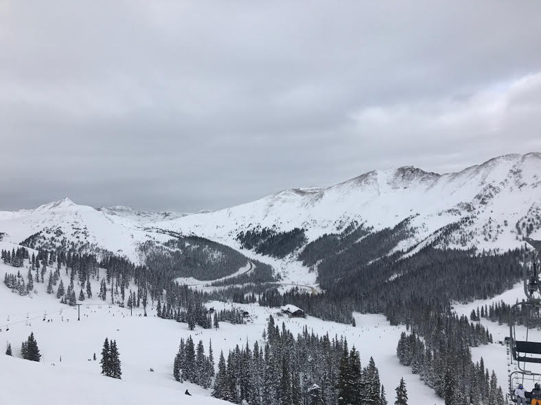 Copper Mountain, the destination of the club's trip last year, sits under cloudy skies.     Image:Cole Ehresmann