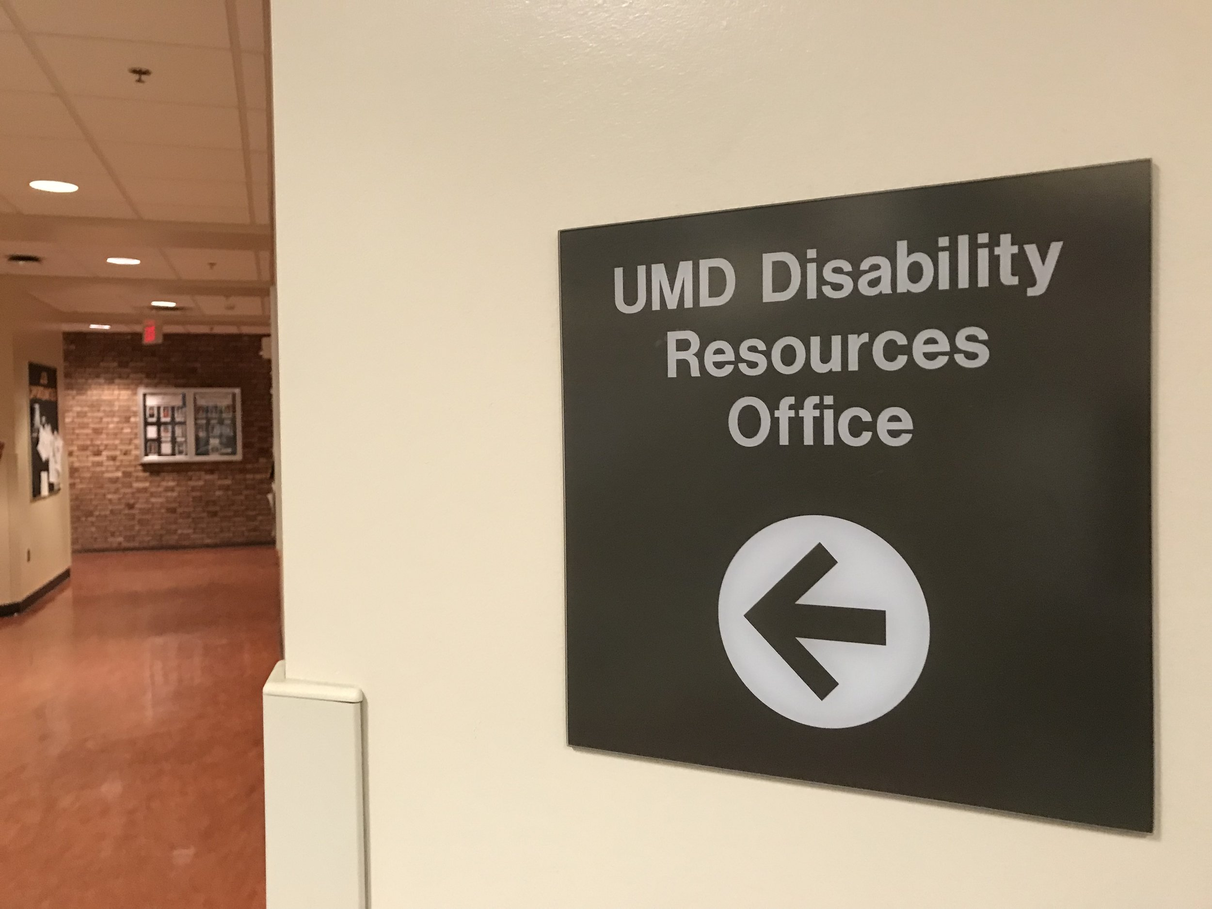 The office is located within the Multicultural Center. Photo courtesy of Cate Tanner