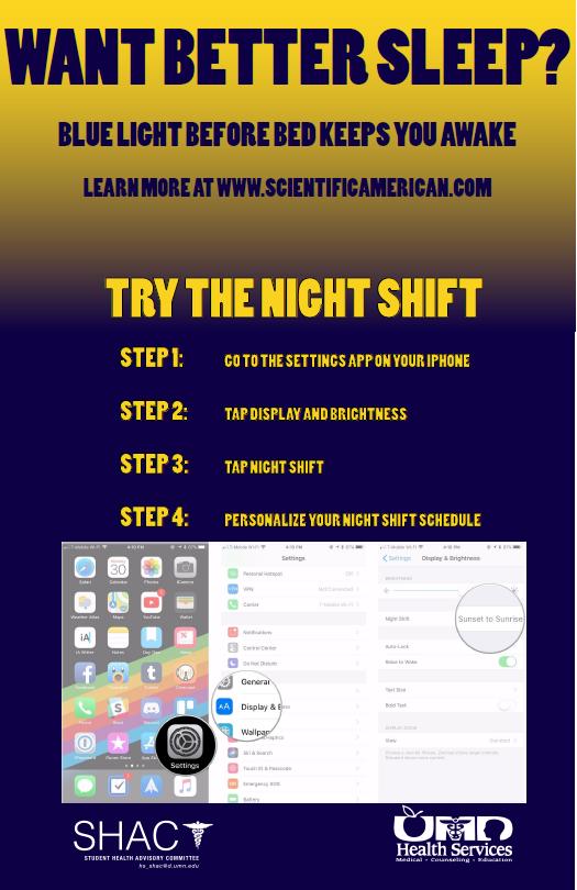 Kelsey Sorenson's  Night Shift  poster