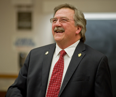 Chancellor Black has helped to bring UMD's budget shortfall from $9.4 million in 2014 to $5.4 million. Photo courtesy UMD website.