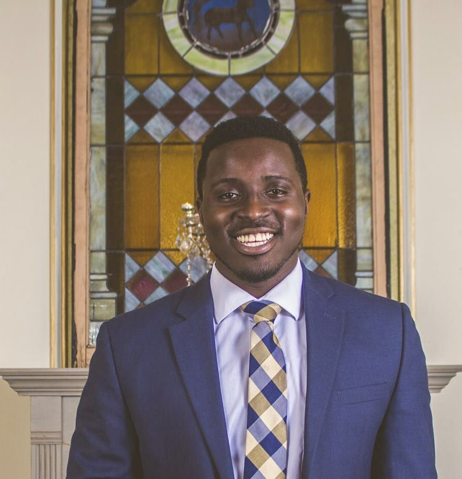 Junior Mike Kenyanya was elected to his second term as student body president.  Photo courtesy of UMDSA Public Relations