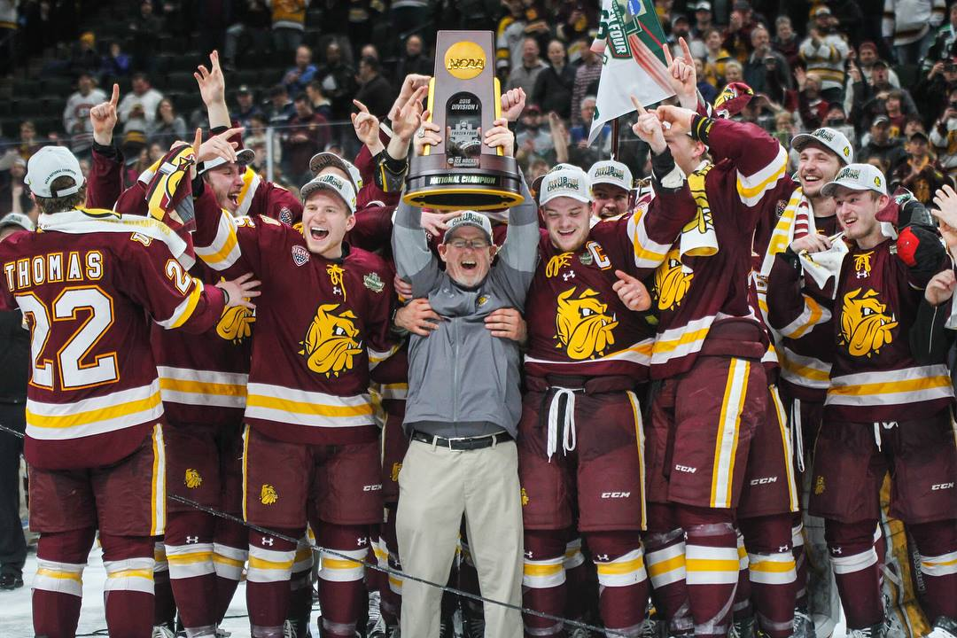The national and international success of UMD athletics in recent weeks has convinced alumni to make donations to the university and its athletic programs. Photo by Krista Mathes.
