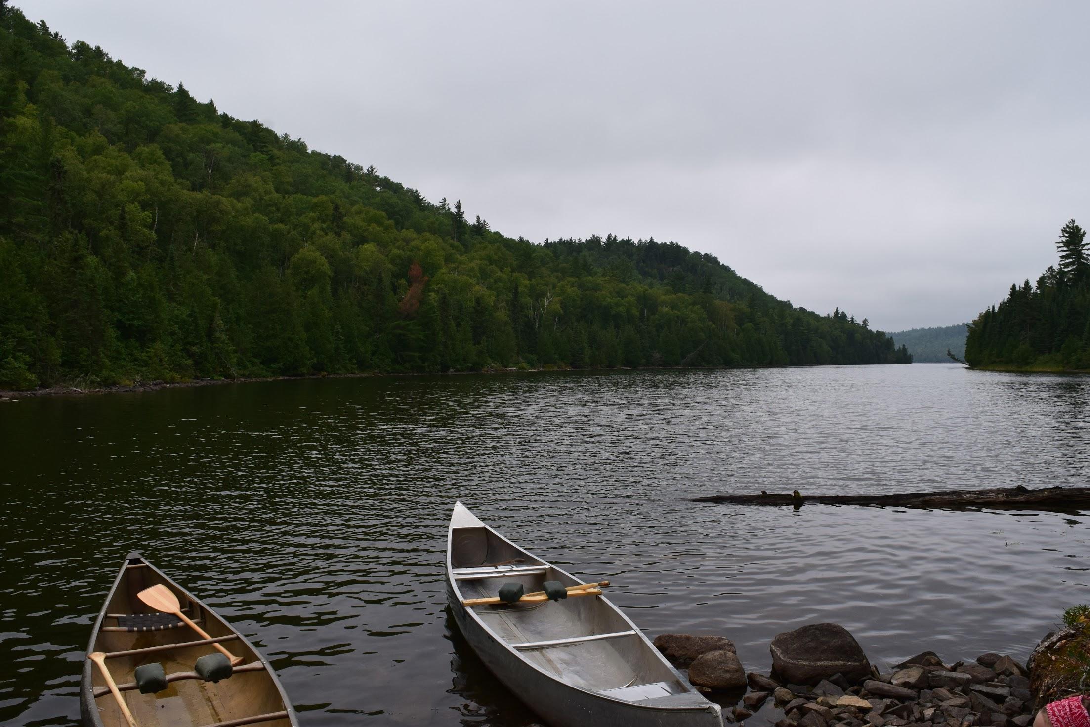 The Boundary Waters Canoe Area. Photo courtesy of Annika Frazer.
