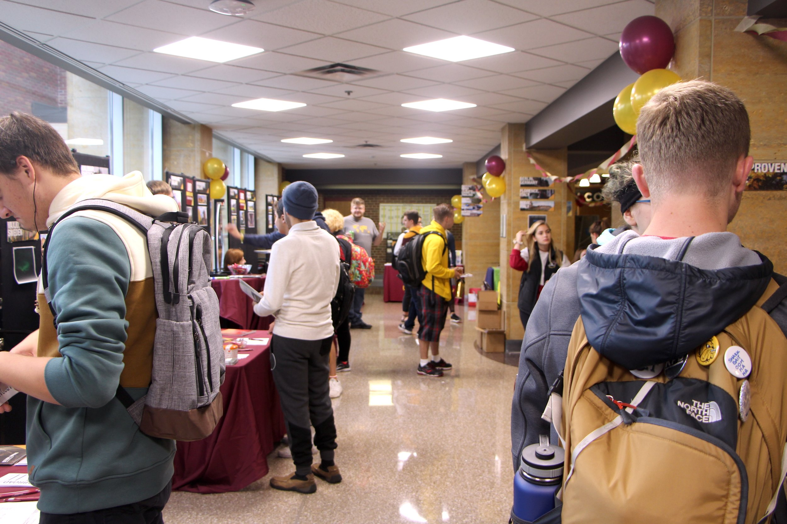 The Study Abroad Fair on Sept. 20, 2018. Photo by Zack Benz