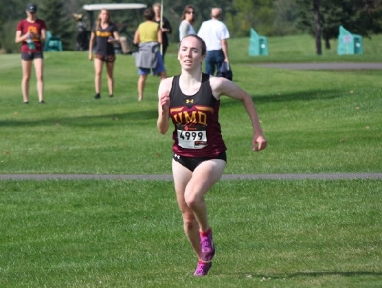 Morgan Radel has been running competitive Cross Country since the seventh grade. This season is her seventh Cross Country season. Photo courtesy of Morgan Radel