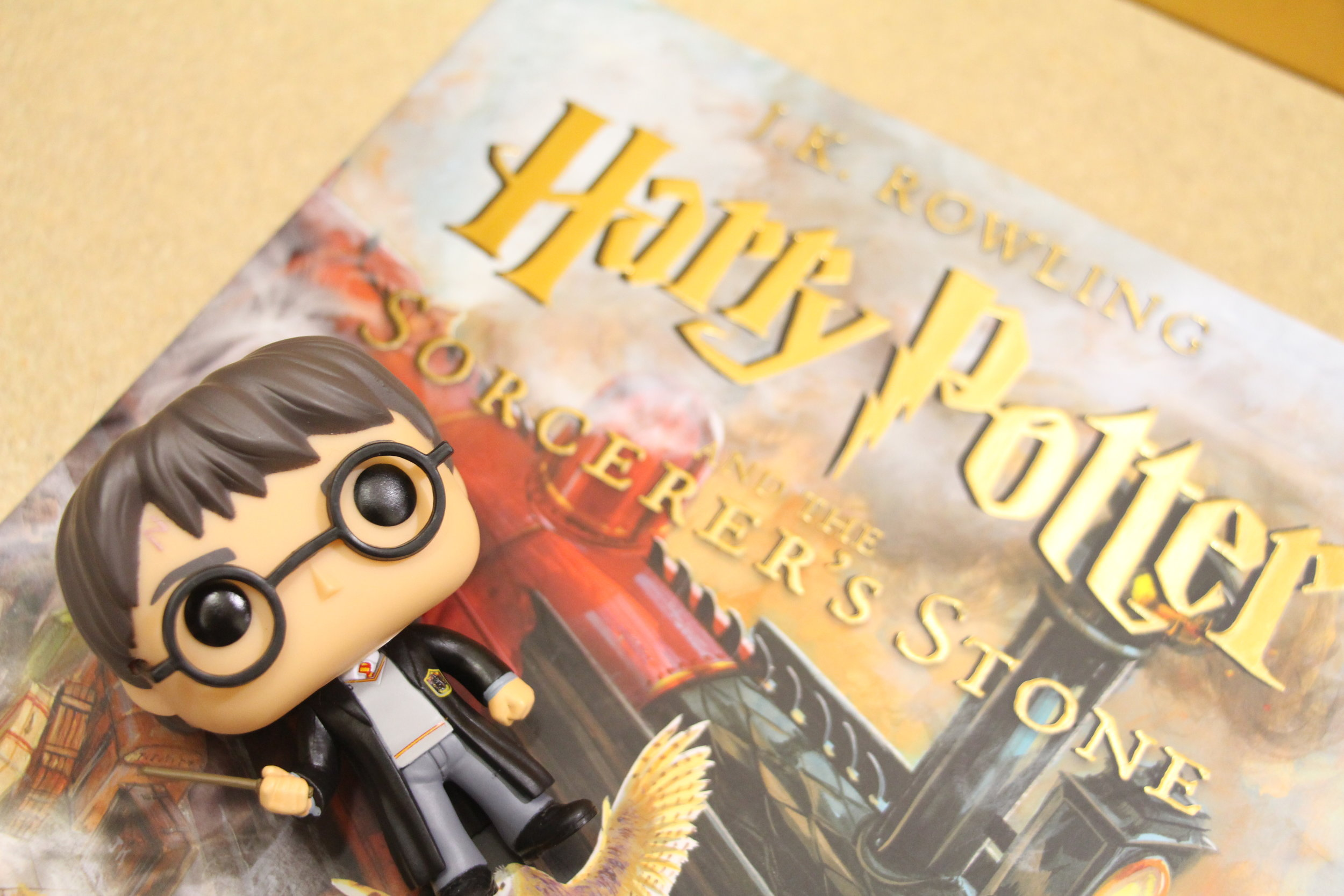 """The """"Harry Potter"""" series has been republished multiple times with new cover art, including new illustrated editions with full-page artwork by illustrator Jim Kay. Photo by Ren Friemann"""