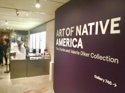 """The """"Art of Native America"""" exhibit is on display at the MET from Oct. 4, 2018-Oct. 6, 2019. Photo courtesy of Jill Doerfler"""