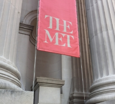 """The """"Art of Native America"""" exhibit is on display at the Metropolitan Museum of Art in New York City. Photo courtesy of Jill Doerfler"""