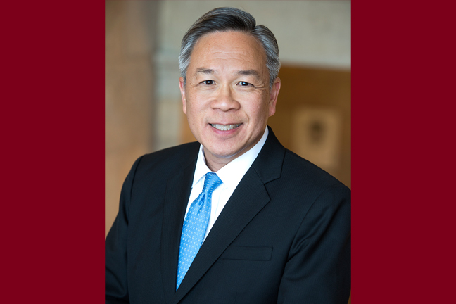 Dr. Goh, vice president of Equity and Diversity. Photo courtesy of the University of Minnesota Office for Equity and Diversity.