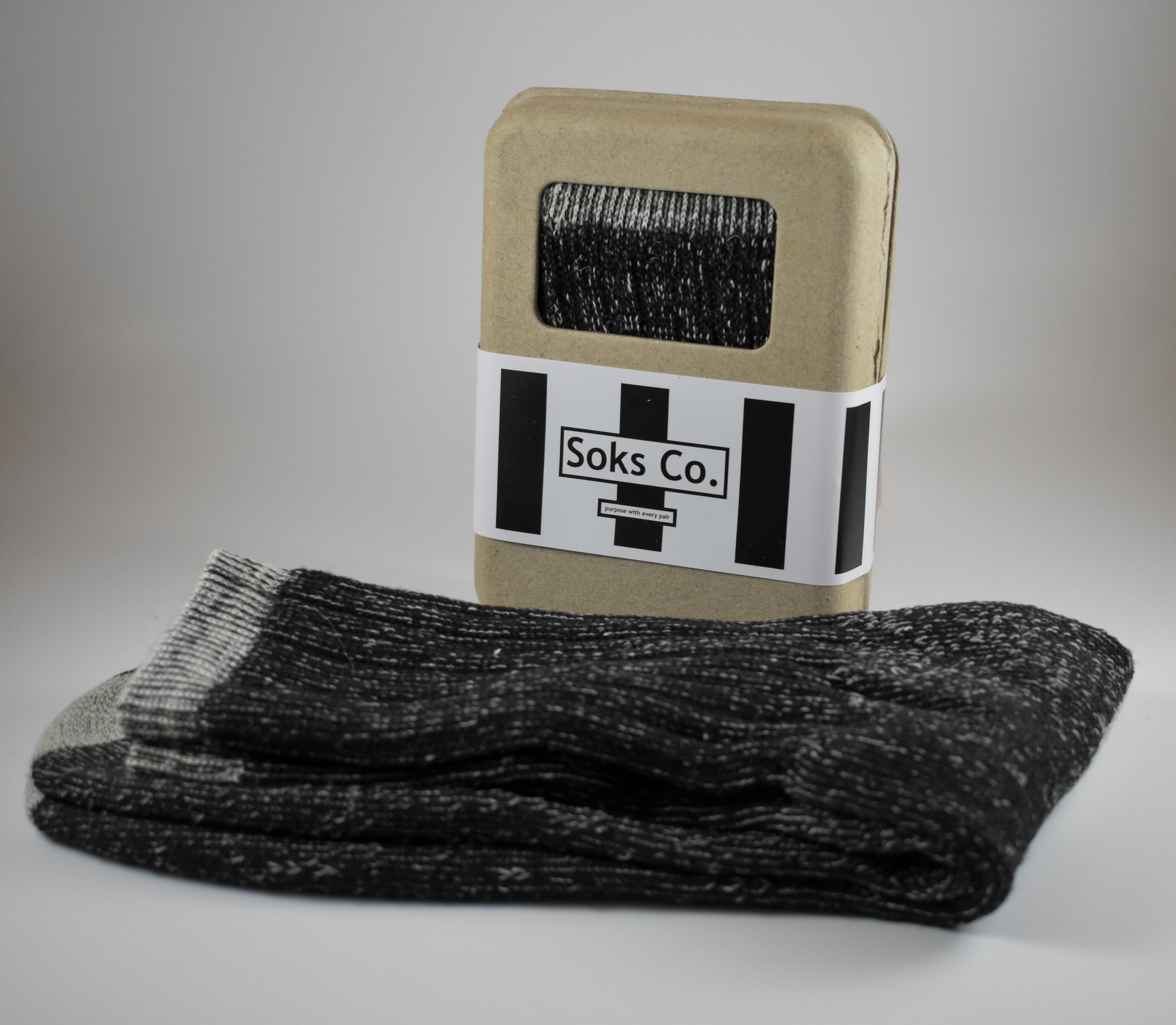 The Original Black Merino Wool Socks. Photo courtesy of Austin Nelson.