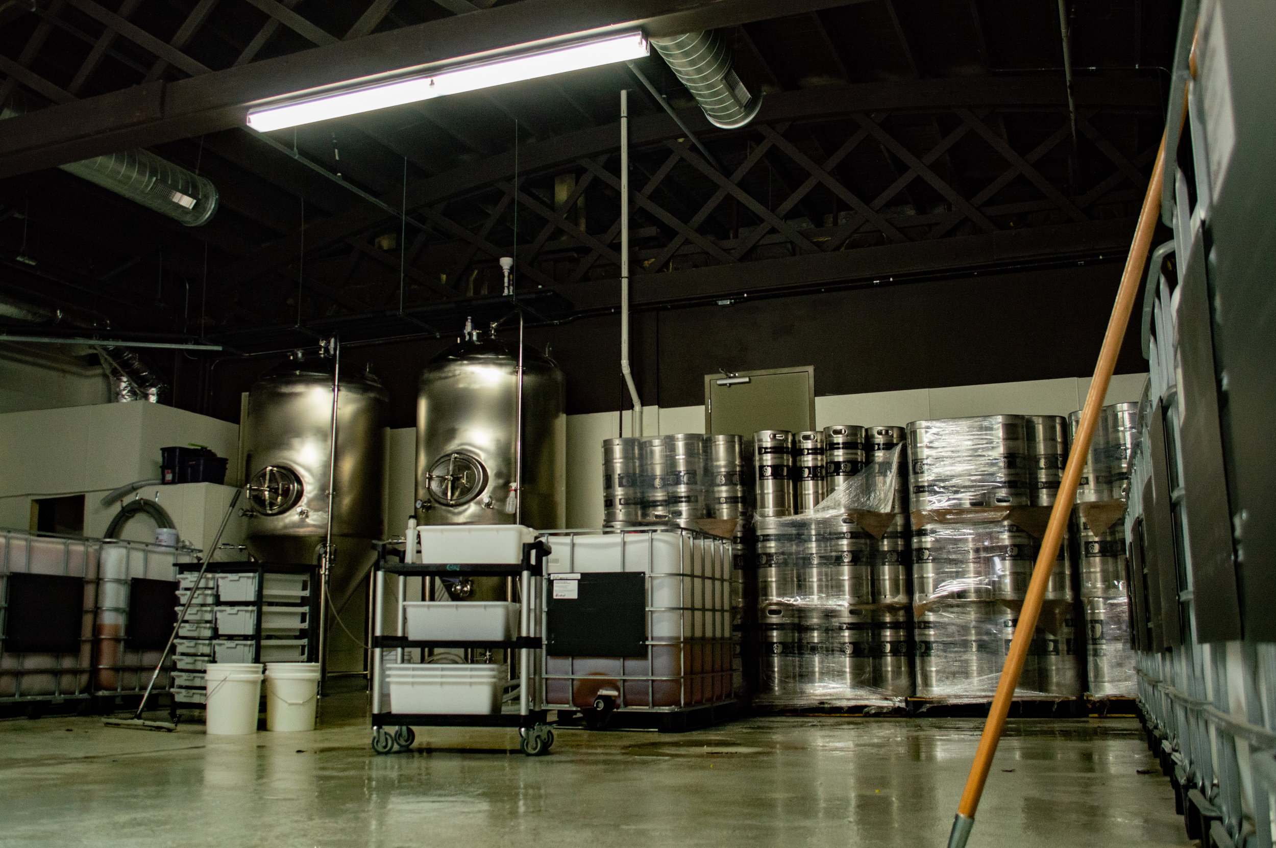 The production section where the cider will be brewed. Photo by: Jake Barnard