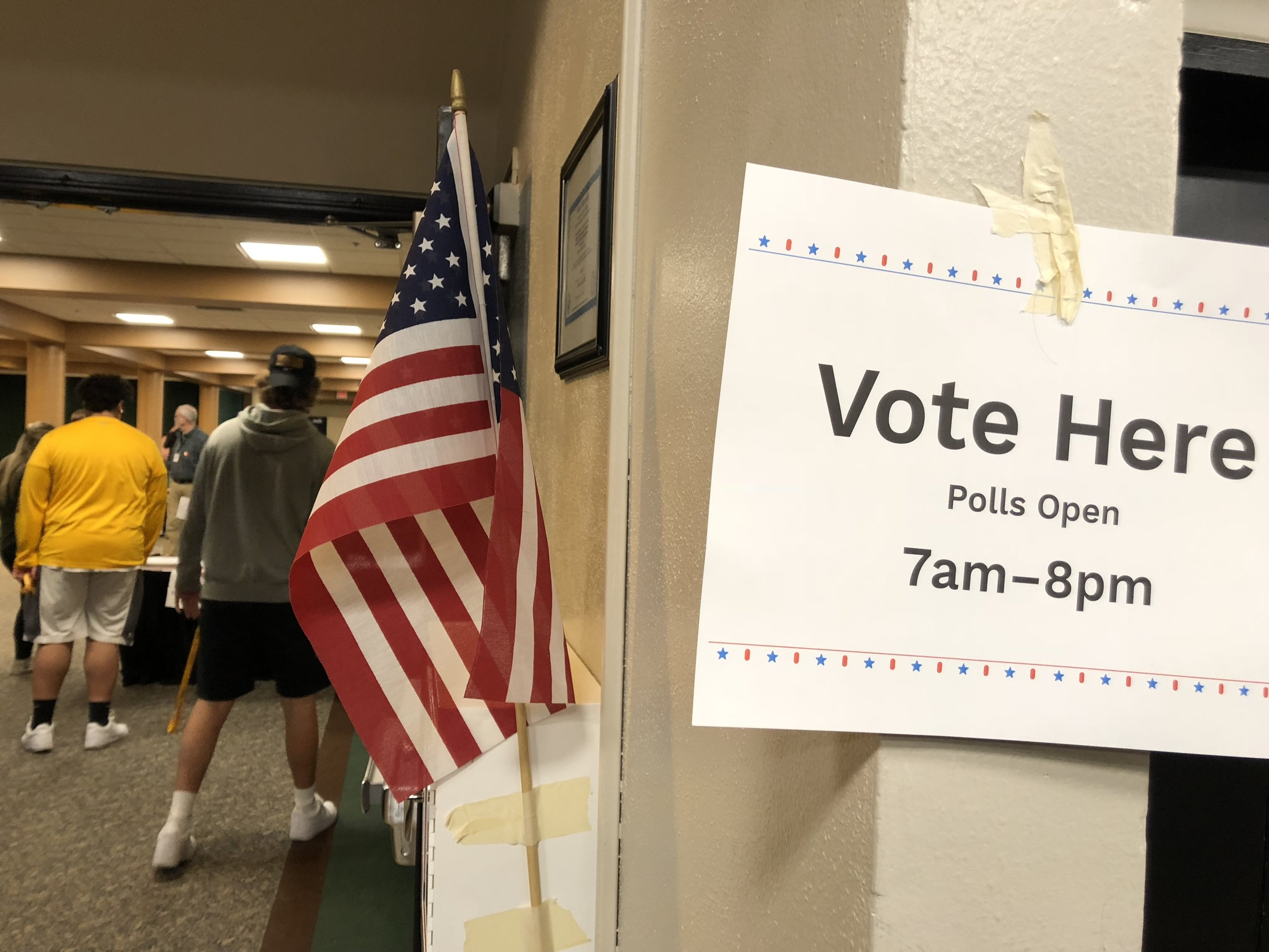 Election day was Nov. 6, polls were open from 7 a.m. to 8 p.m. Photo by Zack Benz