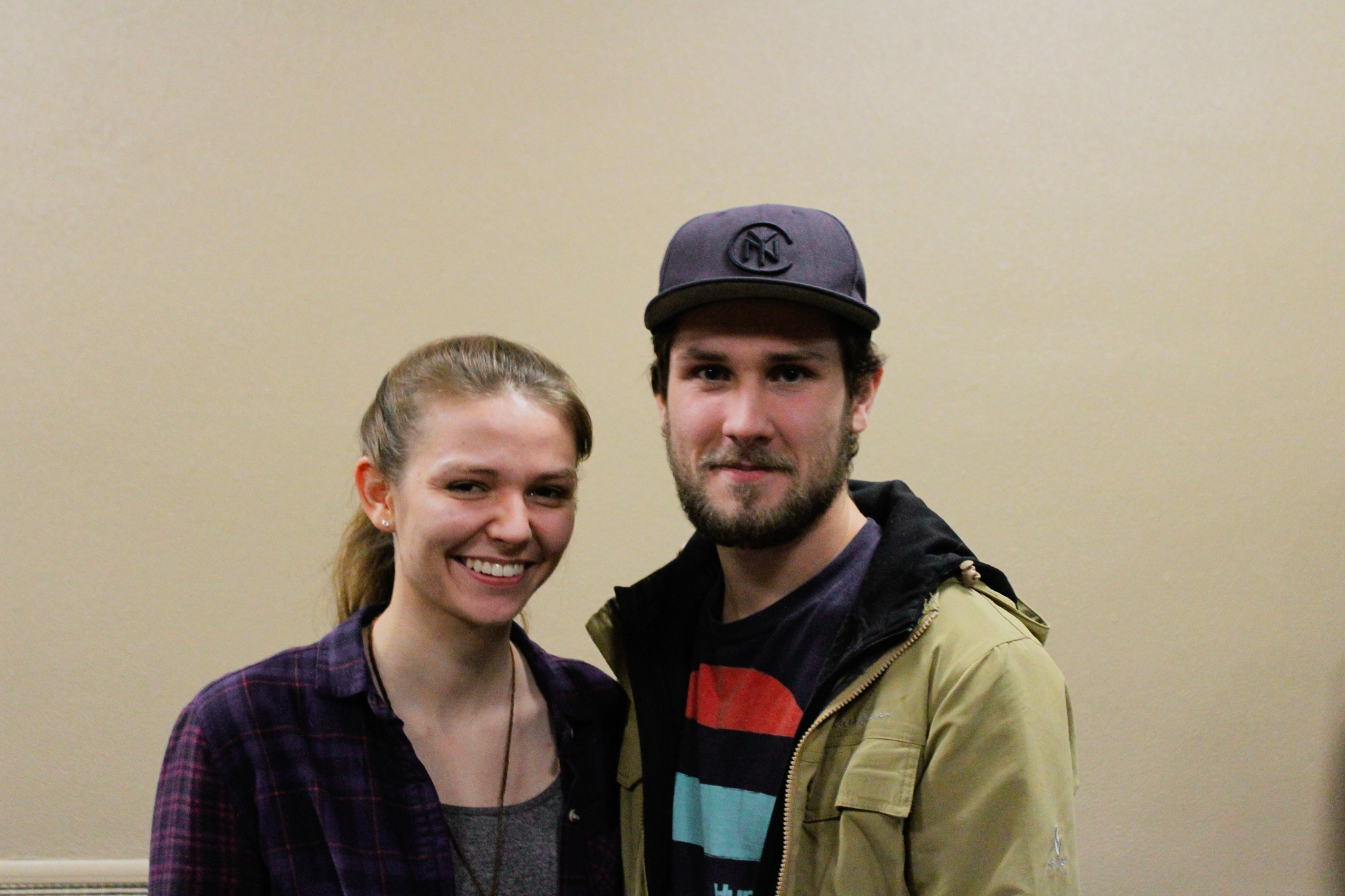 Lydia Sayers and Danny Roach. Photo by Morgan Pint