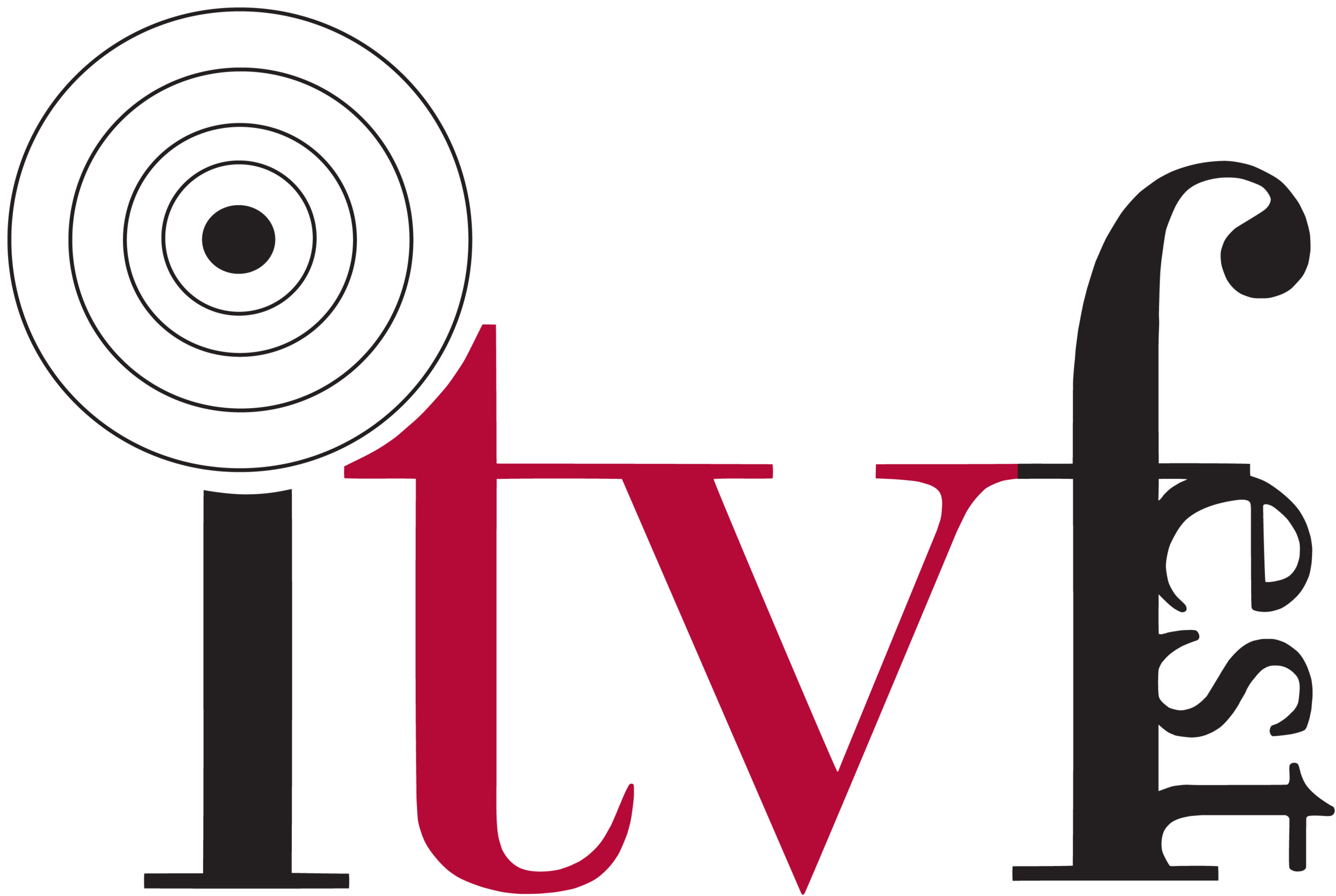 Official Independent Television Festival Logo. Courtesy of ITVFest