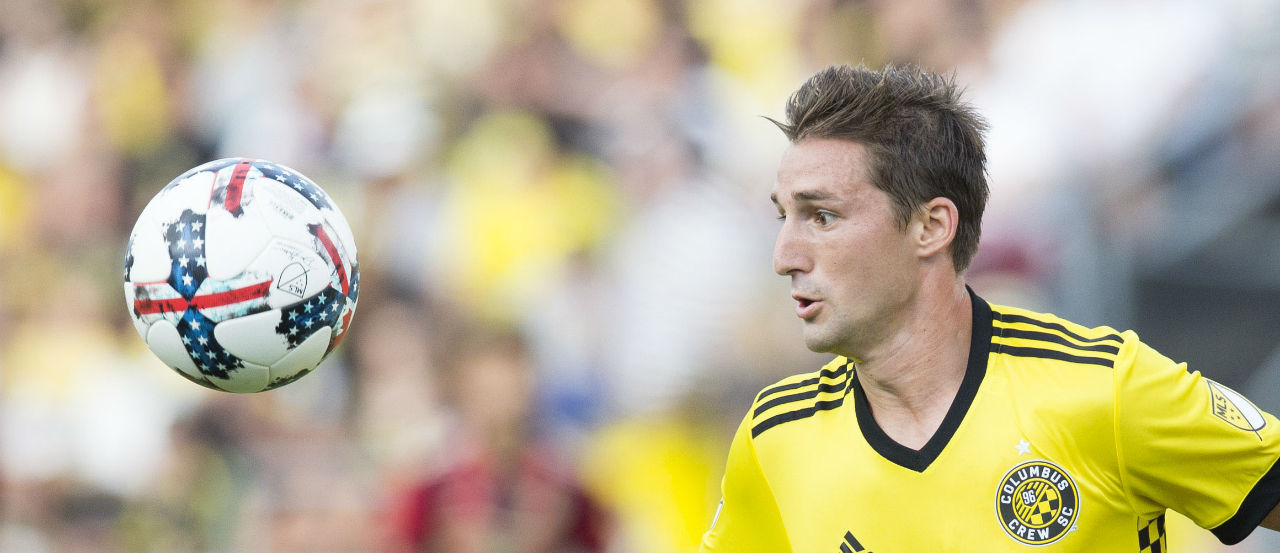 Finlay playing for the Columbus Crew, Photo Courtesy of Major League Soccer