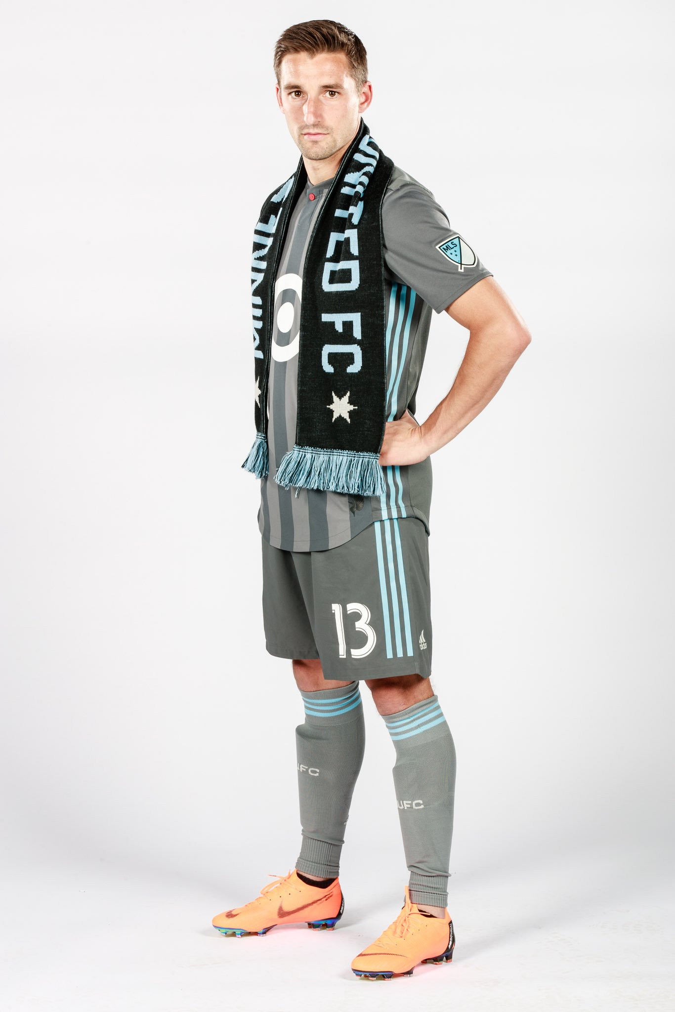 Finlay during the 2018 preseason, Photo Courtesy of Minnesota United