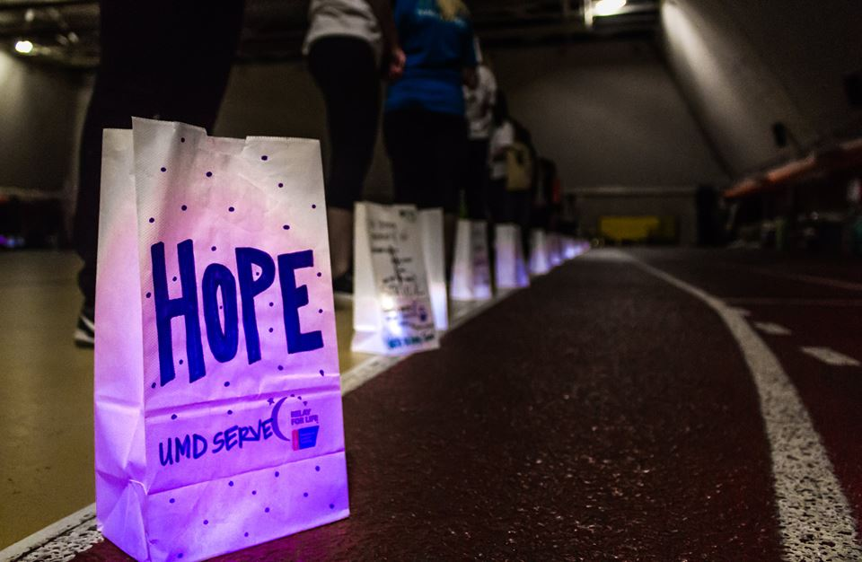 The Colleges Against Cancer Relay for Life event in 2018. Photo courtesy of Anna Neuman.