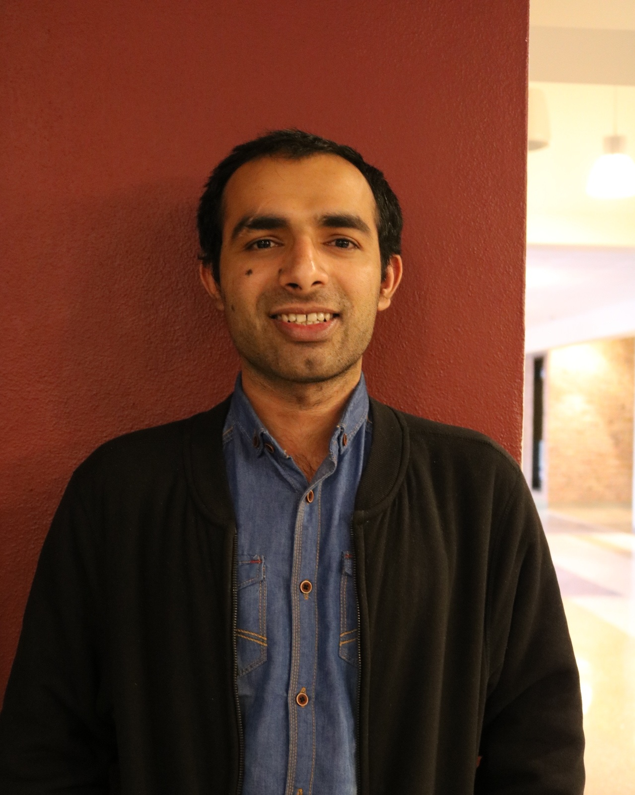 Nabeel Ahmad, Vice President of the Cricket Club. Photo by Madison Hunter