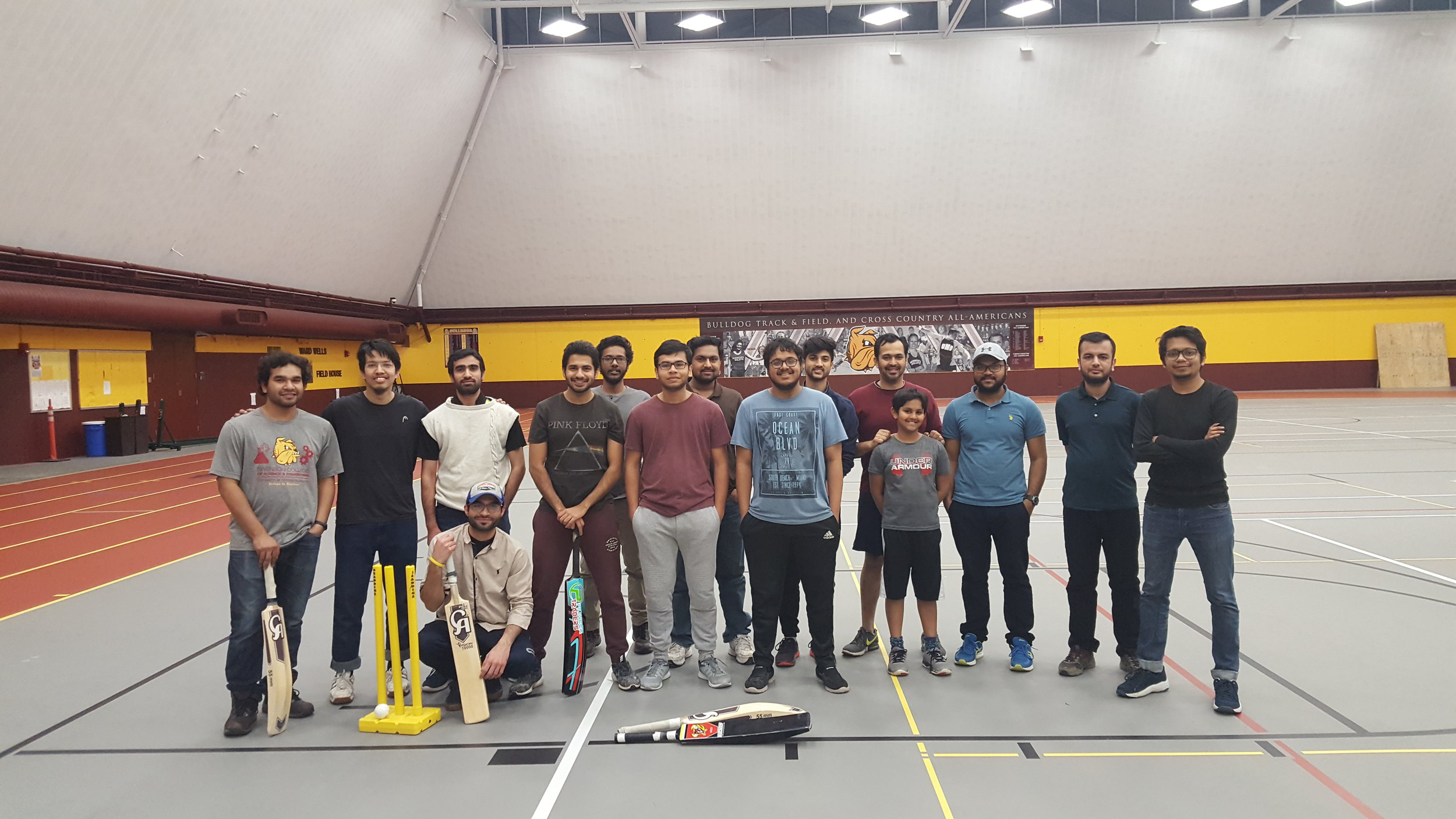 UMD's Cricket Club. Photo curtesy of Nabeel Ahmad
