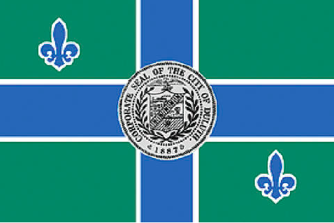Current Duluth Flag. Photo courtesy of City of Duluth