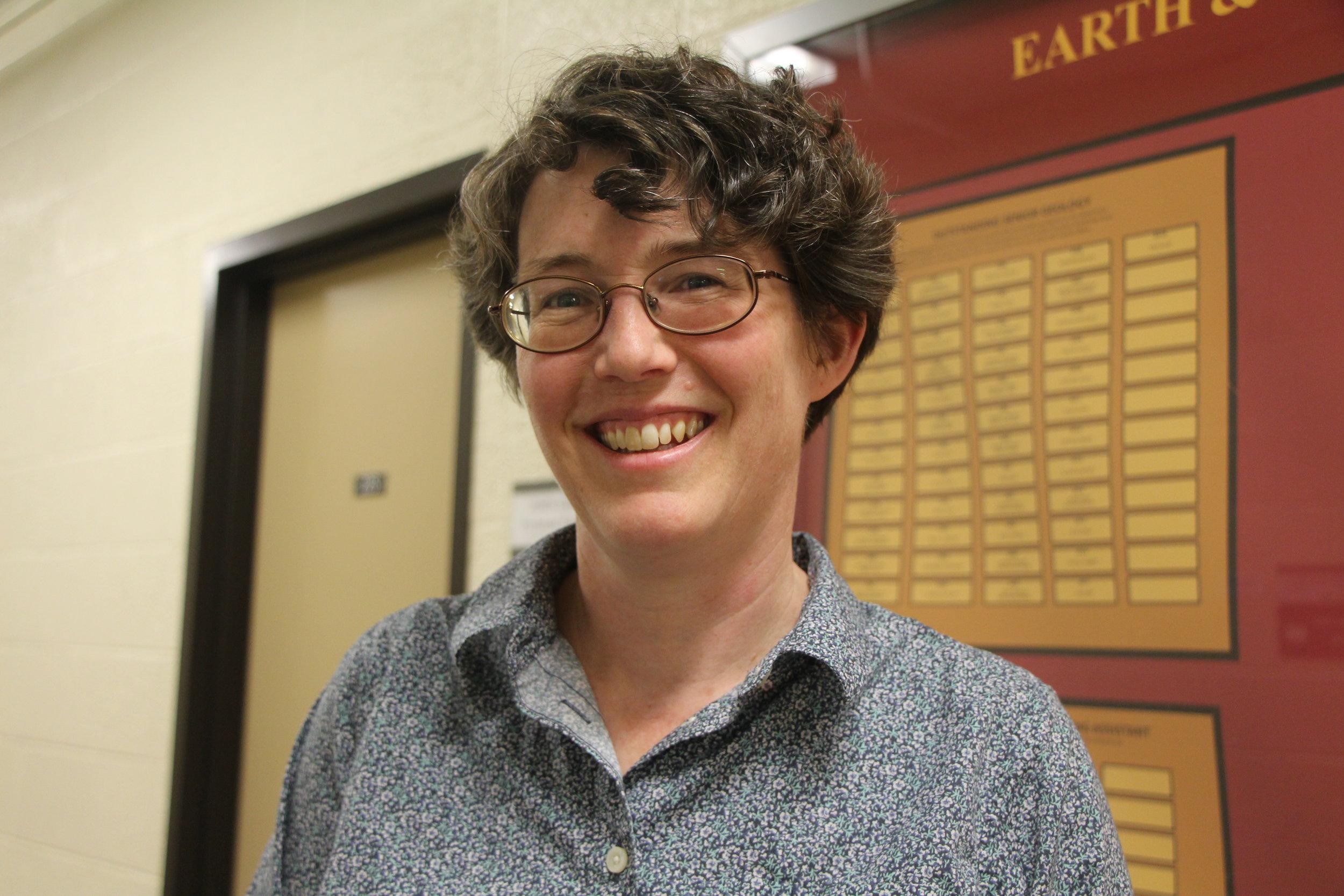 Professor Karen Gran. Photo by Suenary Philavanh