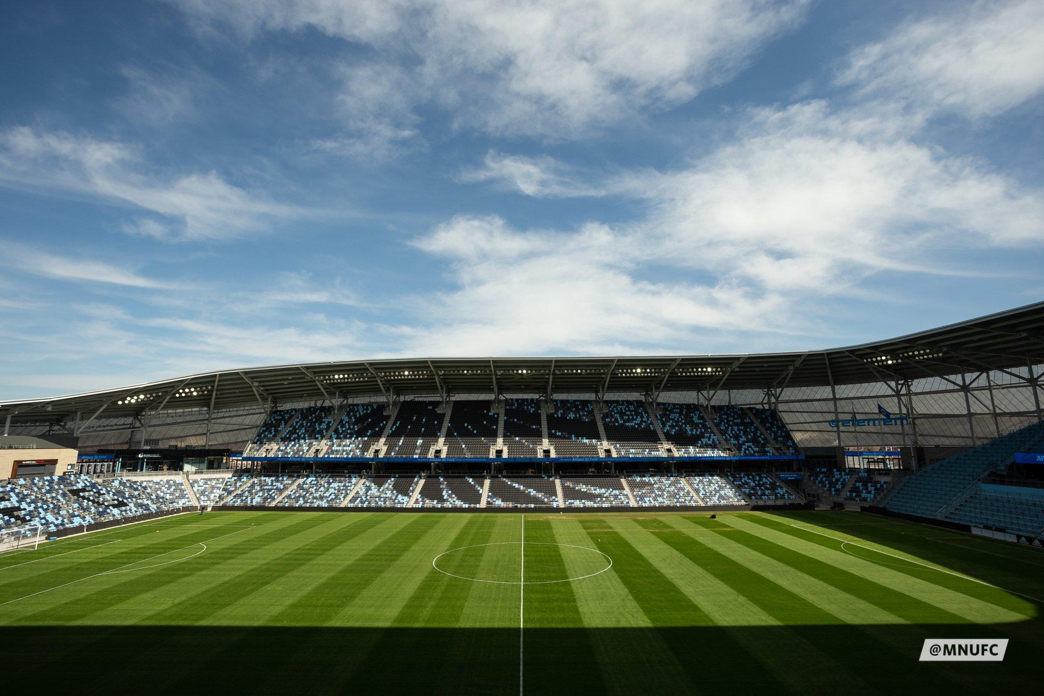 Allianz Field in Saint Paul, MN, Photo Courtesy of Minnesota United