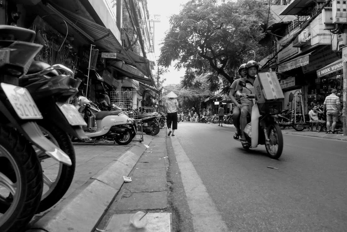 A street in Ho Chi Minh, Courtesy of John Hatcher