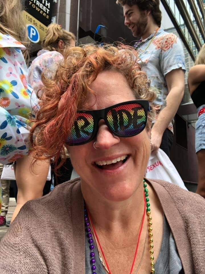 Joanne Coffin-Langdon , UMD's United Campus Ministries Minister. Photo courtesy Joanne Coffin-Langdon