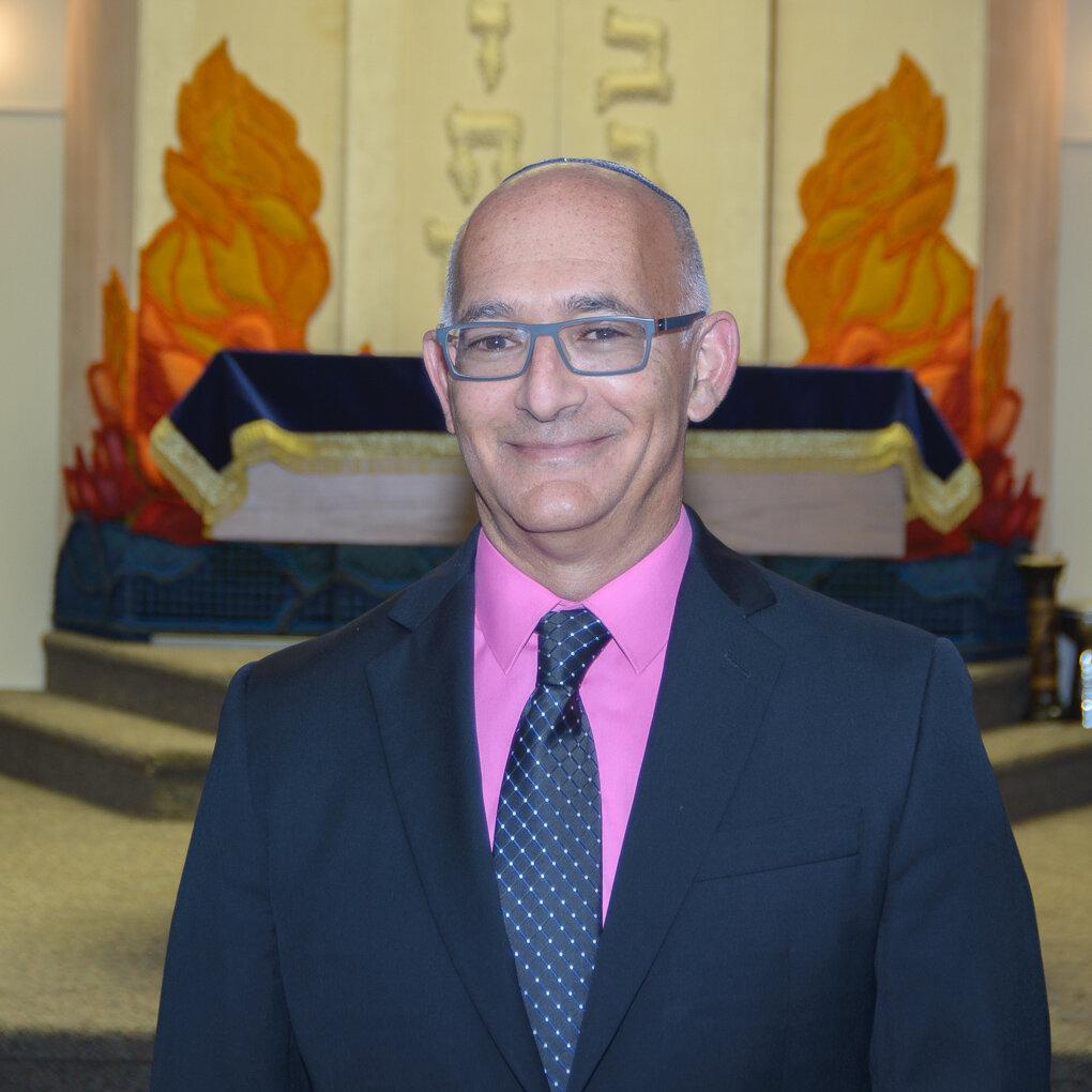 Rabbi David Steinberg  of Temple Israel. Photo by Deb Carroll