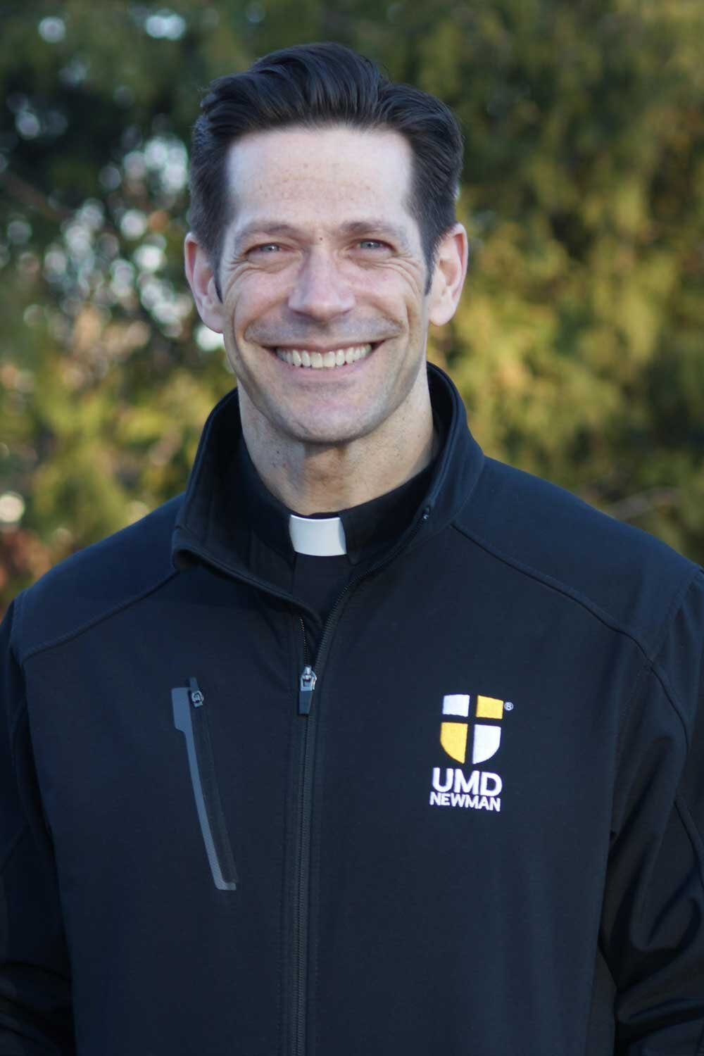 Father Mike Schmitz of the Newman Catholic Campus Ministry. Photo courtesy  UMD Newman