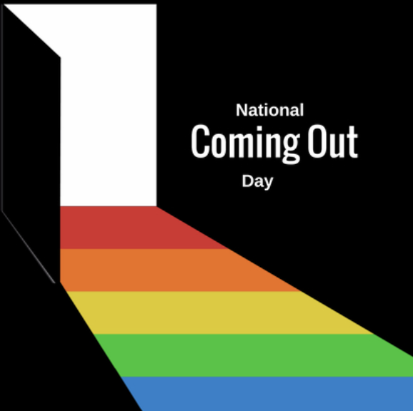 National Coming Out Day Design from the City Club of Cleveland