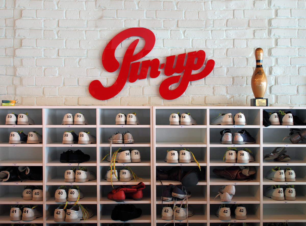 Pin-up Bowling Lanes:  The World's first pop-up ten pin bowling lanes complete with diner, cocktail bar and programme of engaging events.