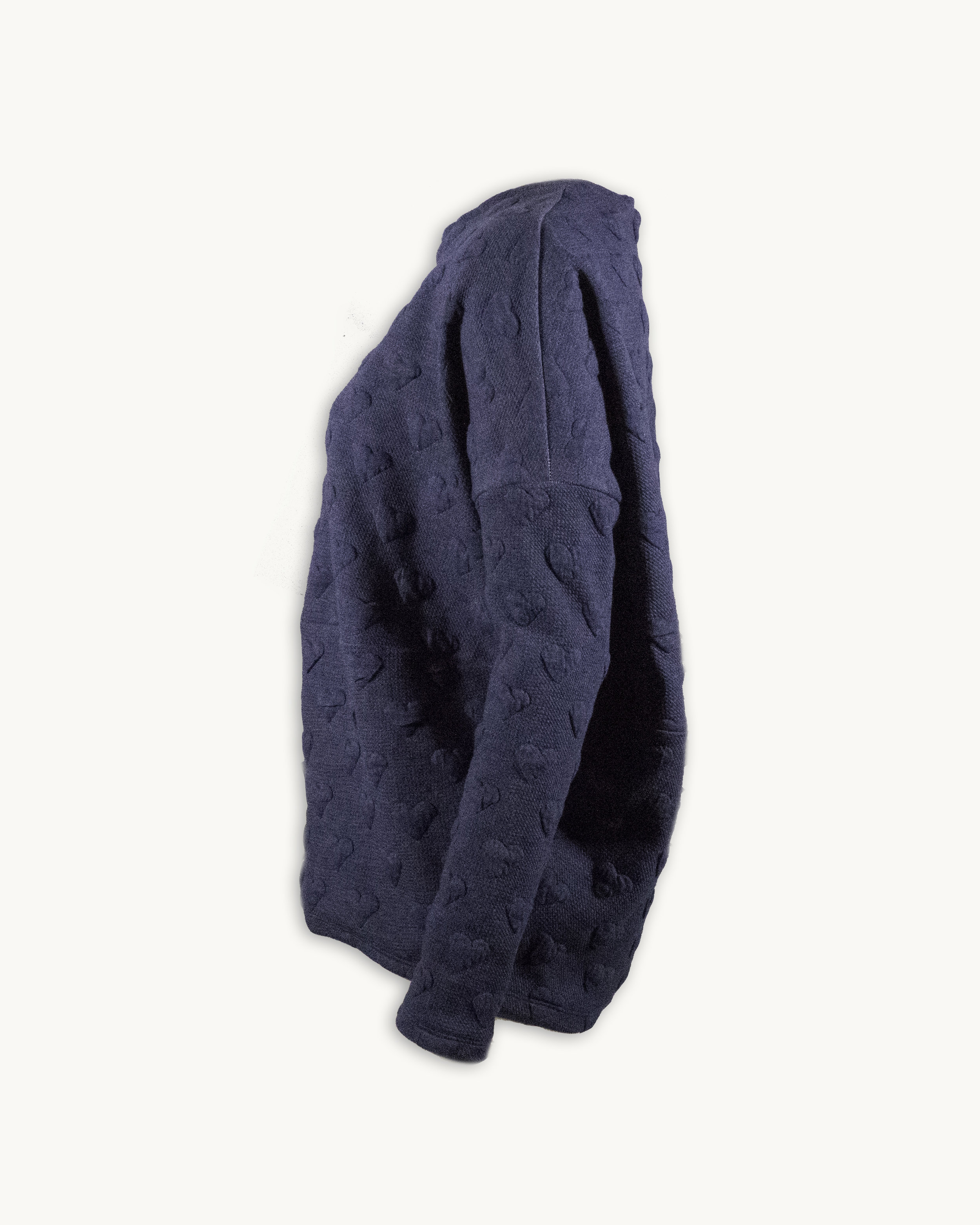 Side view of the Slate Blue color option in size Small.