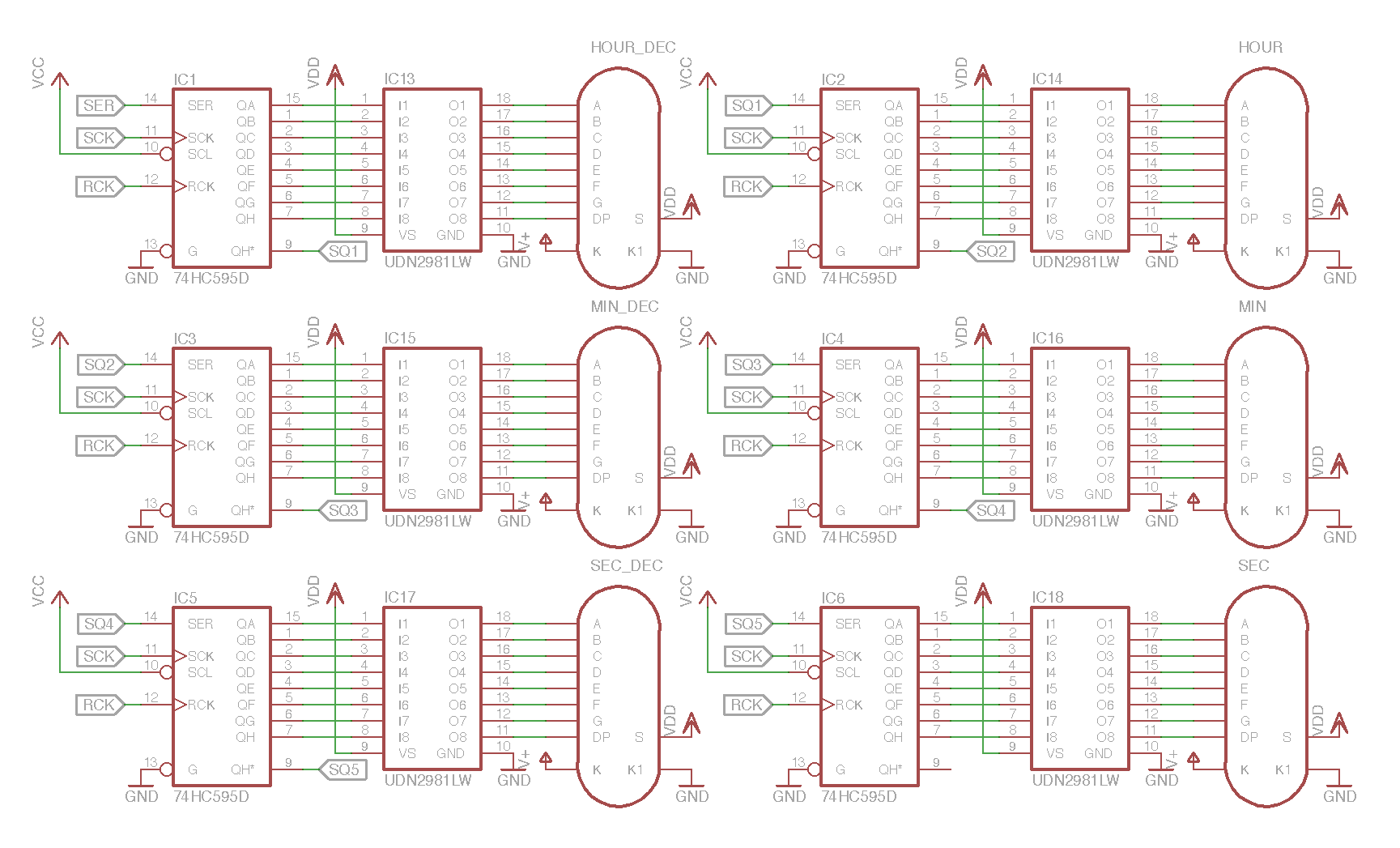 Designing Your Own VFD Clock I: The Tube Circuit — The VFD Collective