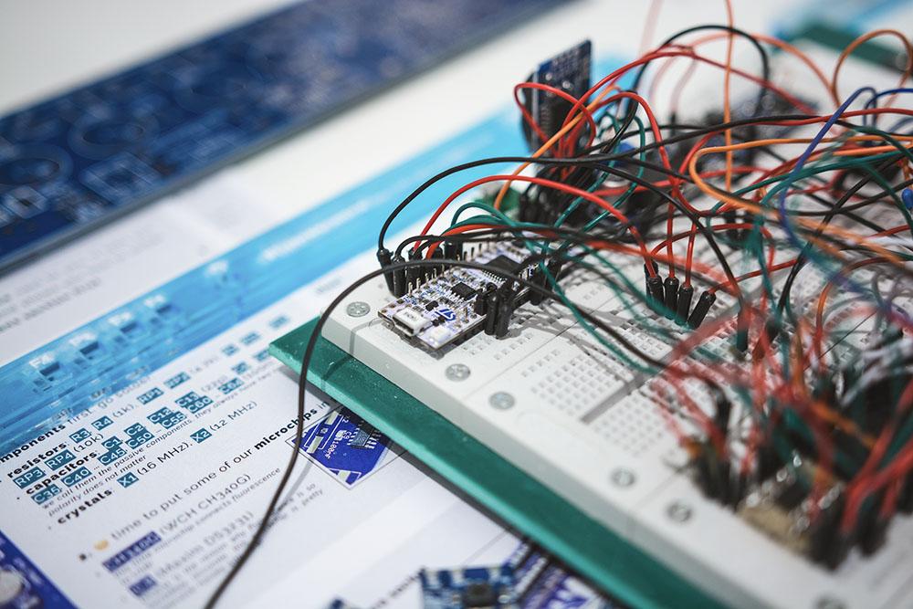 Developing V3 on an ARM Cortex M0 (STM32F042K6)