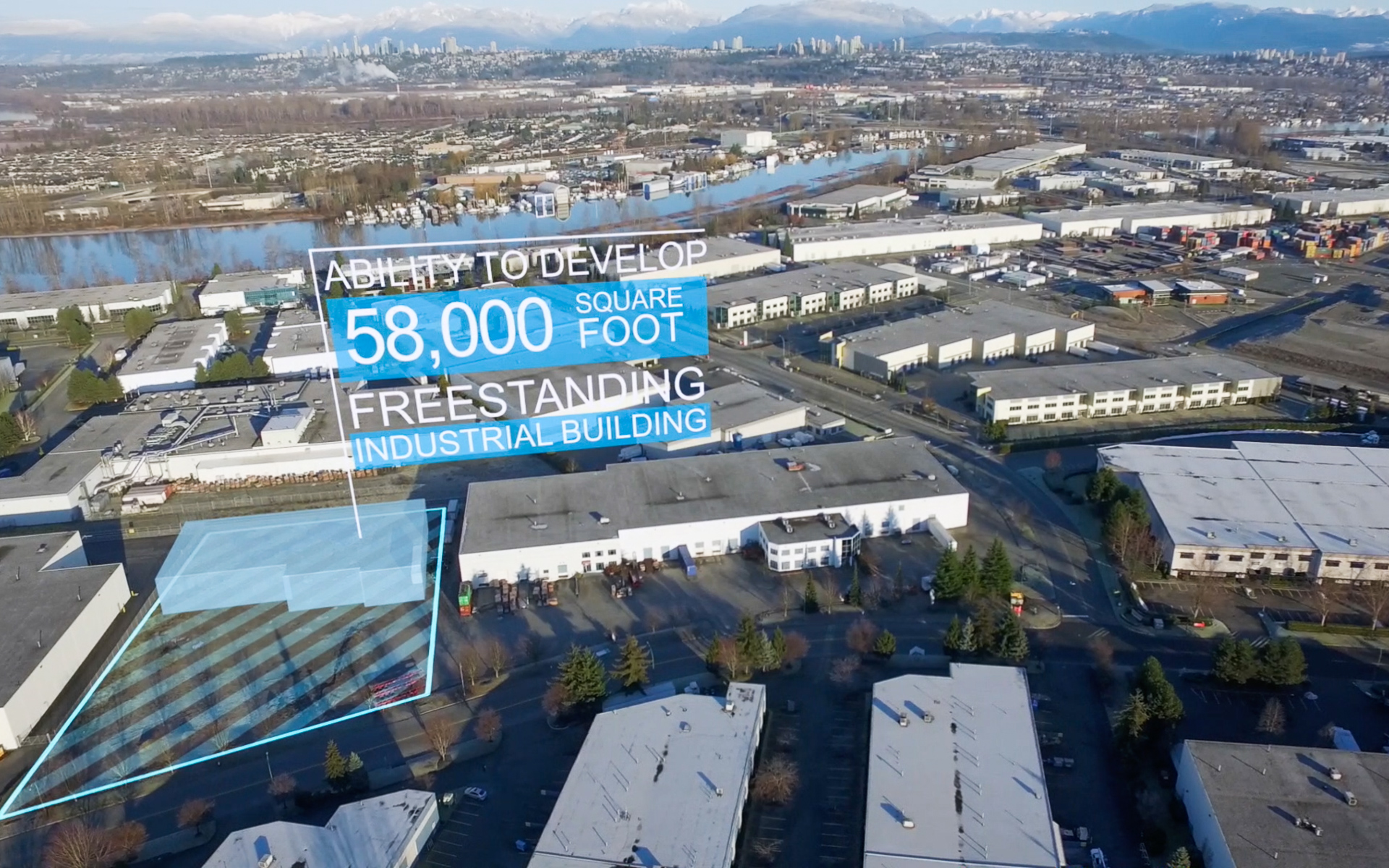Commercial Listing with Motion Graphics - Colliers Listing at Delta