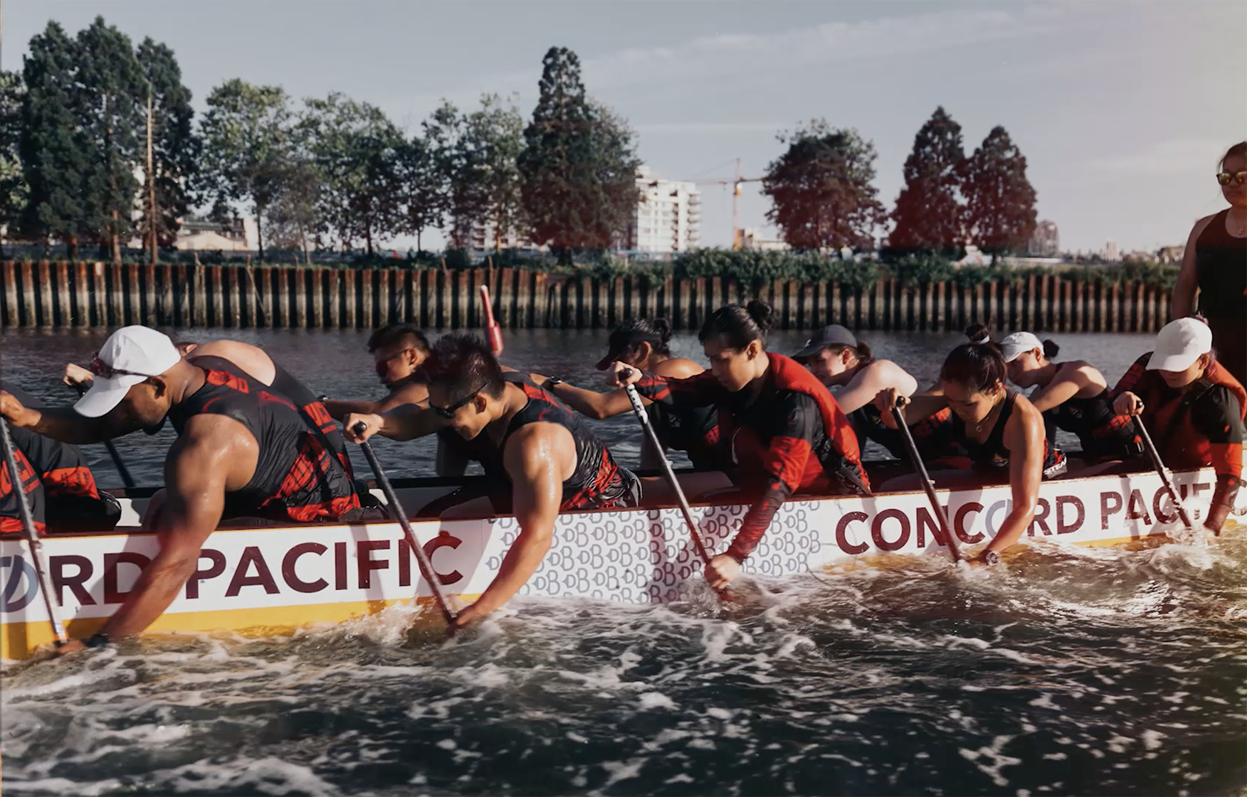 Firetruck Dragon Boat Team -