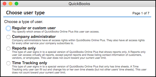 You can restrict users to specific areas of QuickBooks Online.