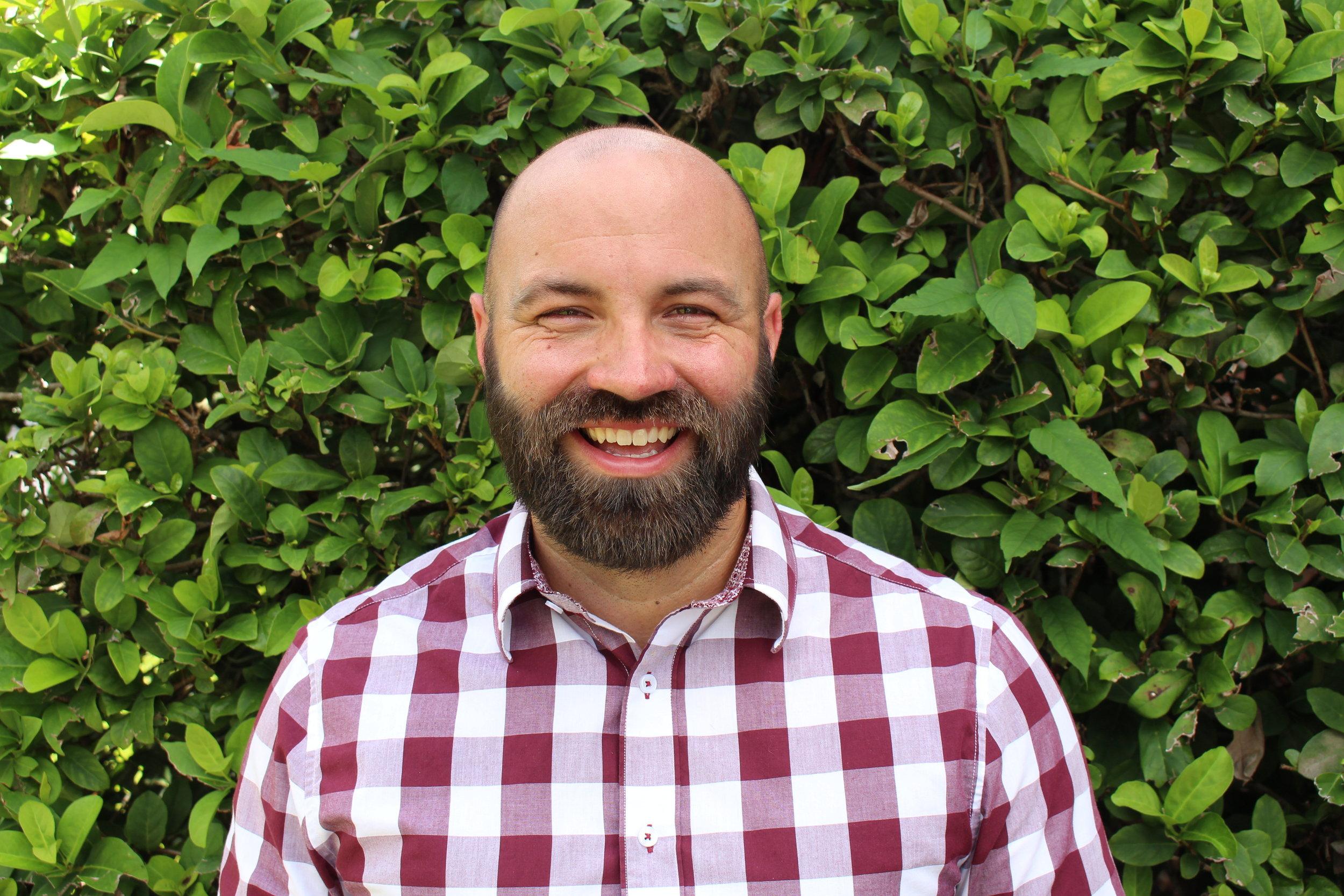 Greg Shaw   Youth Pastor